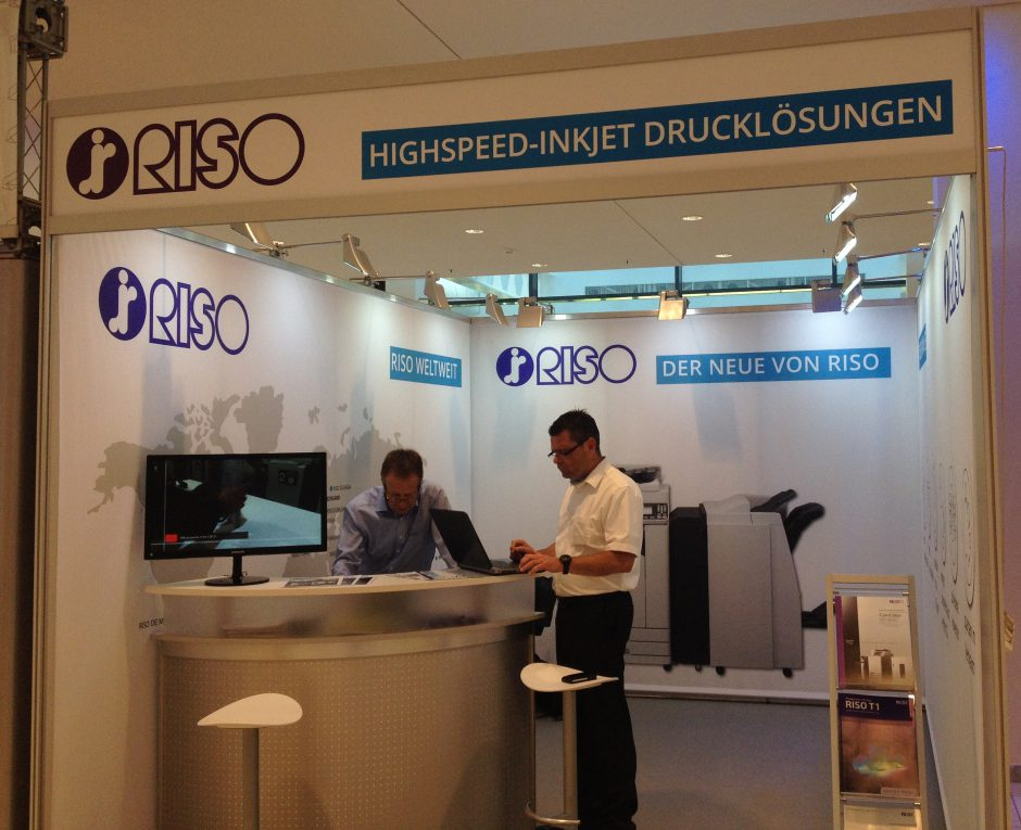 RISO Messestand Doxnet 2016