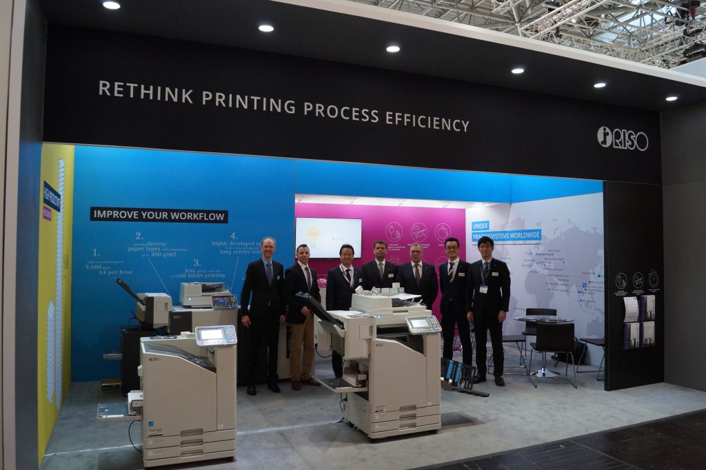 RISO Messestand Interpack